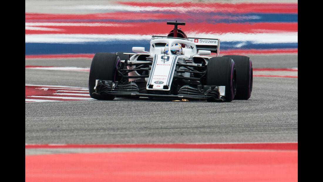 Marcus Ericsson - GP USA 2018