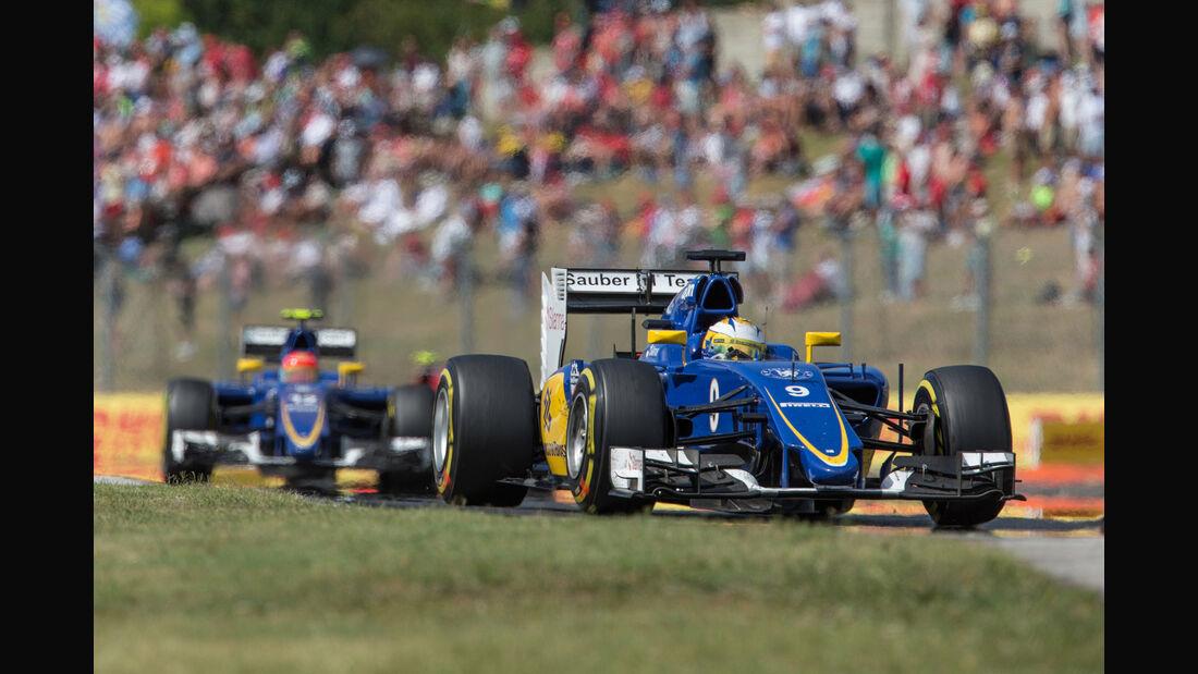 Marcus Ericsson - GP Ungarn 2015