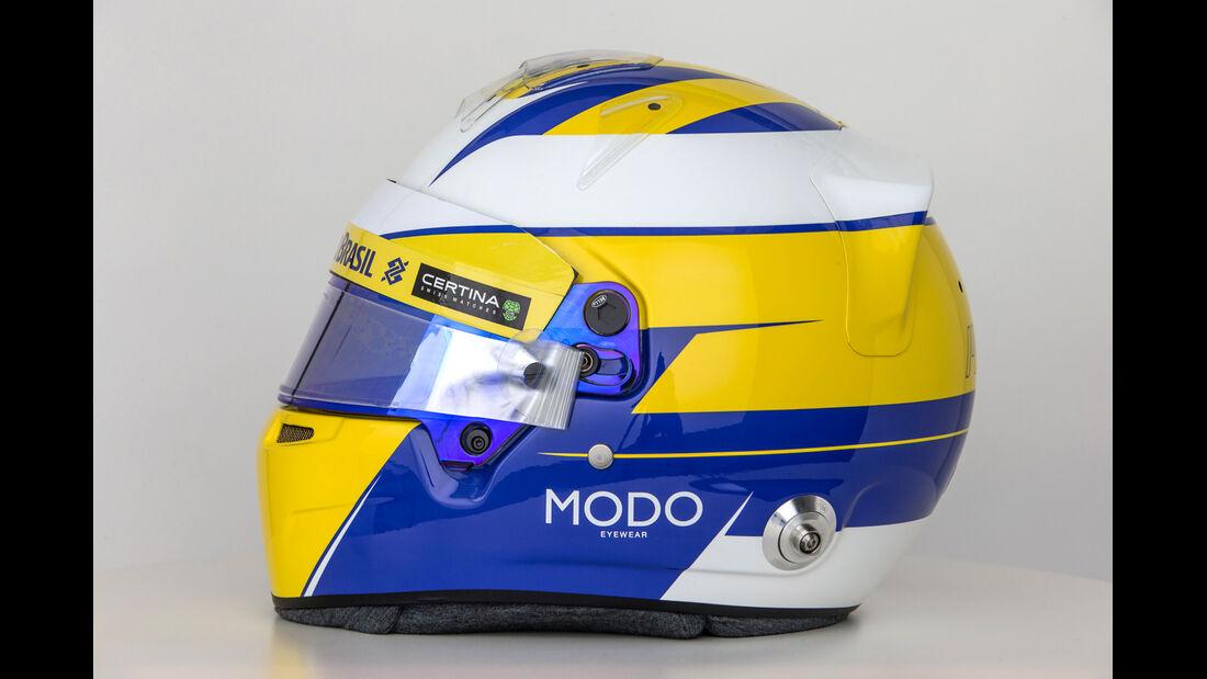 Marcus Ericsson - Helm  - Formel 1 - 2015