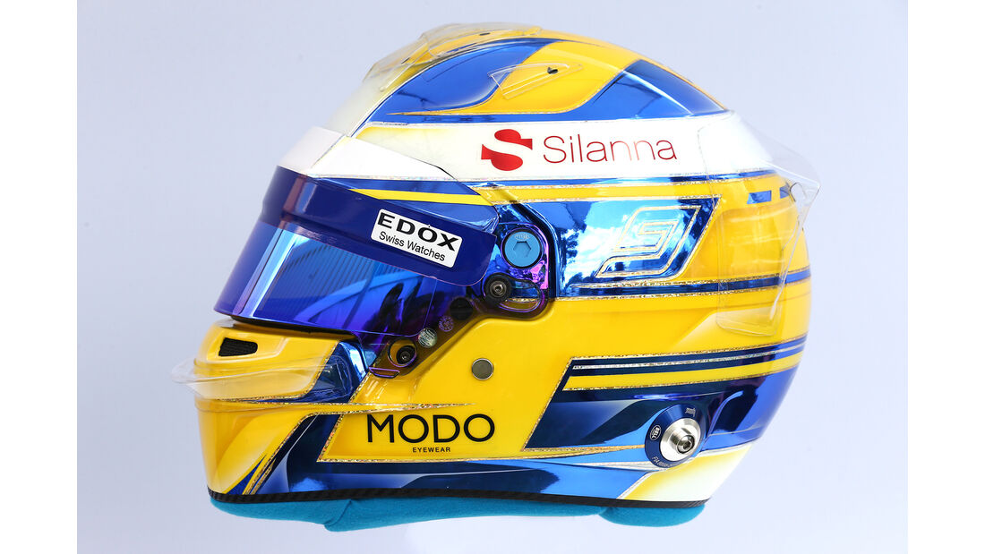 Marcus Ericsson - Helm - Formel 1 - 2017