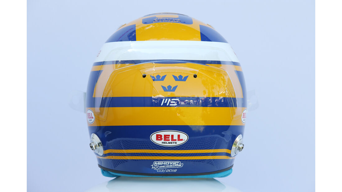 Marcus Ericsson - Helm - Formel 1 - 2018