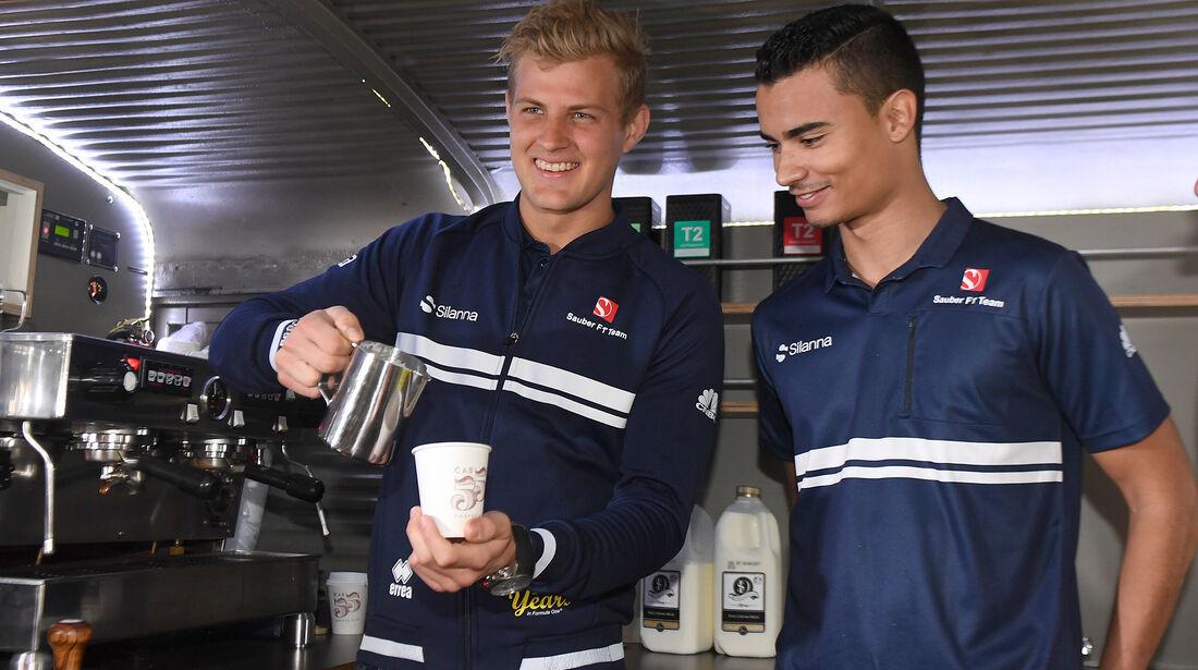 Marcus Ericsson & Pascal Wehrlein - Sauber - Formel 1 - GP Australien - Melbourne - 22. März 2017