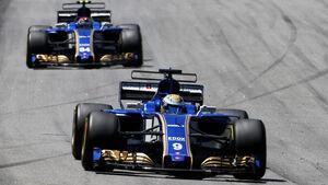 Marcus Ericsson - Pascal Wehrlein - Sauber - GP Brasilien 2017