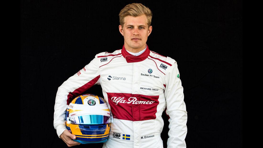 Marcus Ericsson - Porträt - Formel 1 - 2018