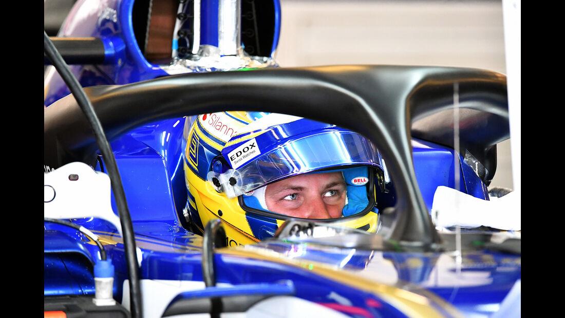 Marcus Ericsson - Sauber - Abu Dhabi - Test 1 - 28. November 2017