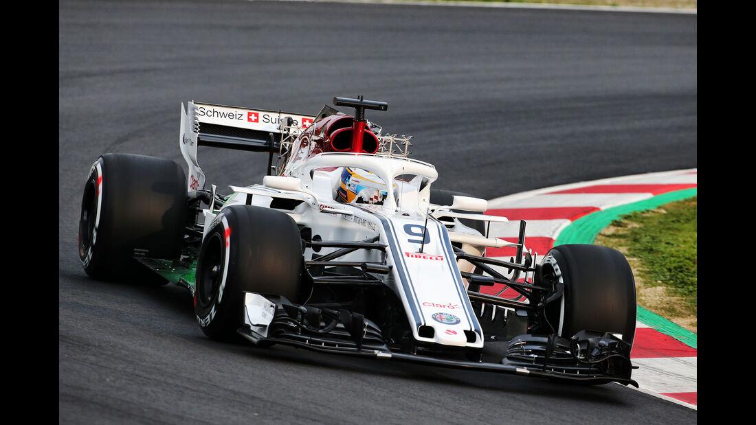 Marcus Ericsson - Sauber - Barcelona F1-Test 2018 - Tag 1