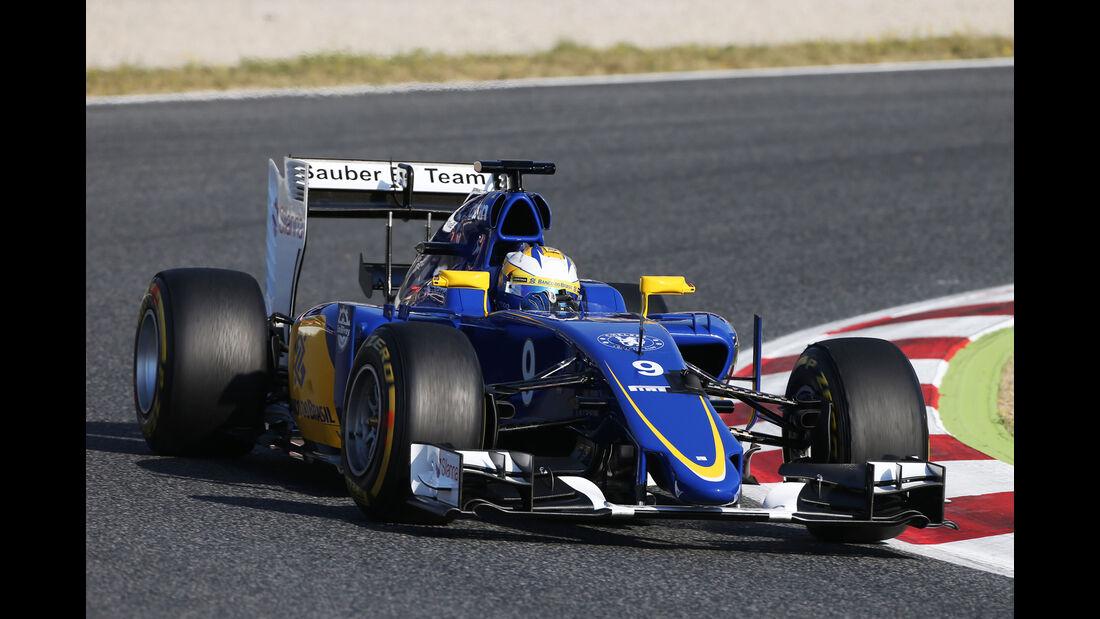 Marcus Ericsson - Sauber - Barcelona-Test - 12. Mai 2015