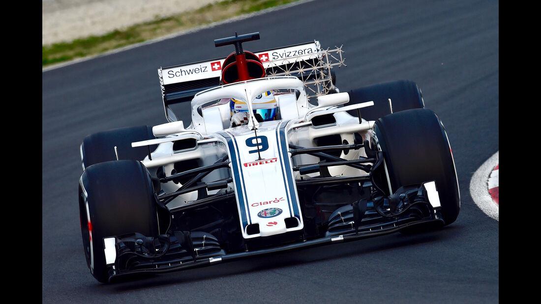 Marcus Ericsson - Sauber - F1-Test 2018 - Barcelona