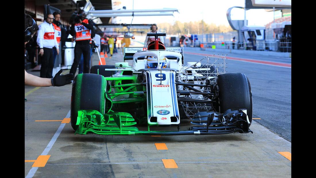 Marcus Ericsson - Sauber - F1-Test - Barcelona - Tag 5 - 6. März 2018