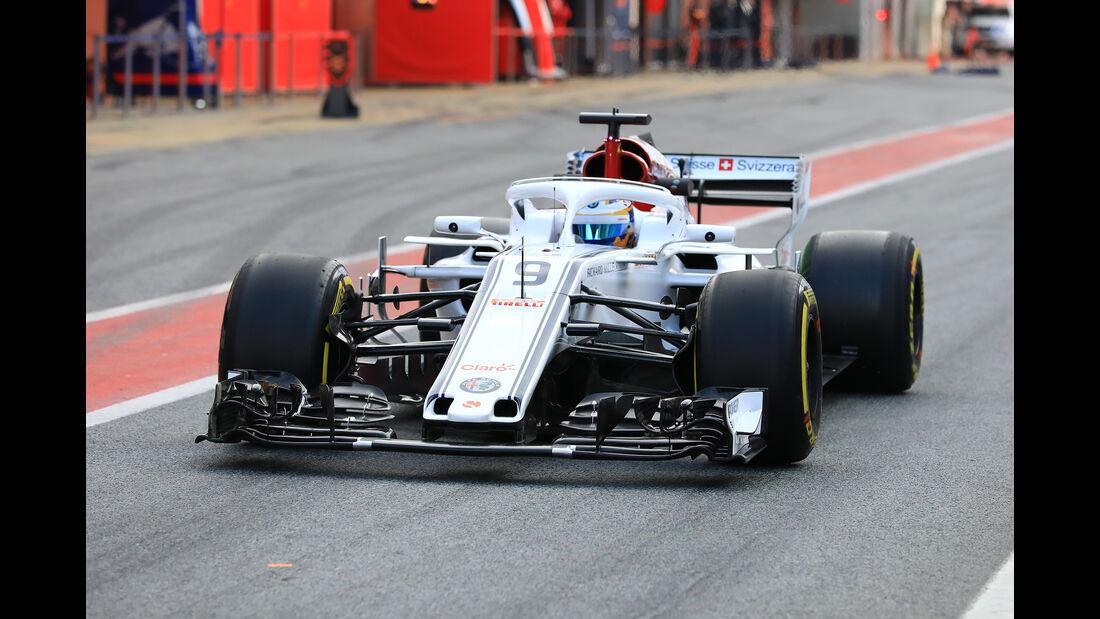 Marcus Ericsson - Sauber - F1-Test - Barcelona - Tag 7 - 8. März 2018