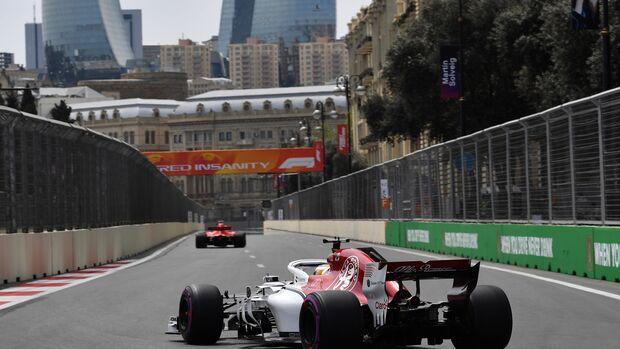 Marcus Ericsson - Sauber - Formel 1 - GP Aserbaidschan - 27. April 2018