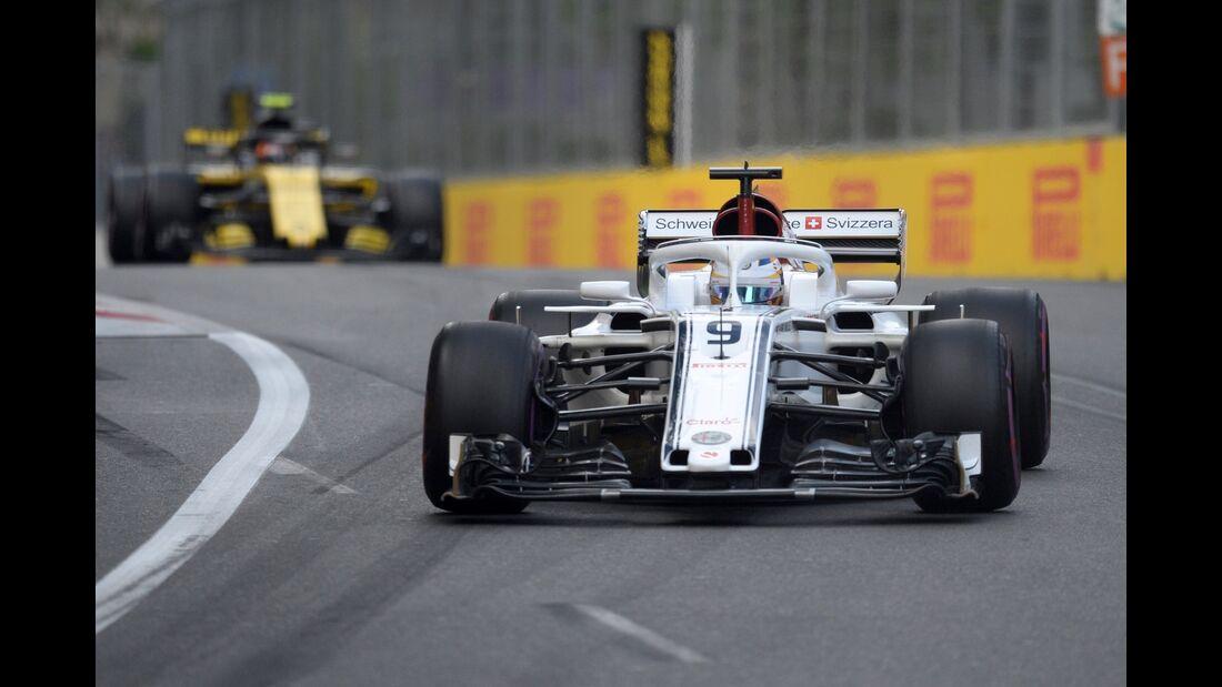 Marcus Ericsson - Sauber - Formel 1 - GP Aserbaidschan - 28. April 2018