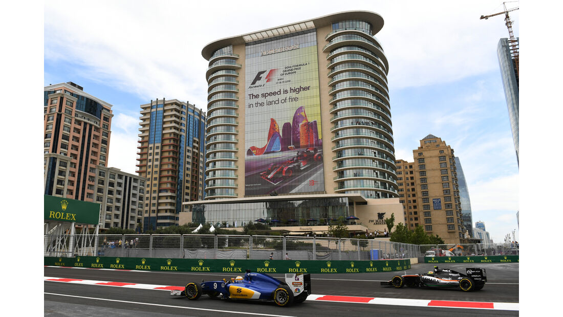 Marcus Ericsson - Sauber - Formel 1 - GP Aserbaidschan - Baku - 17. Juni 2016