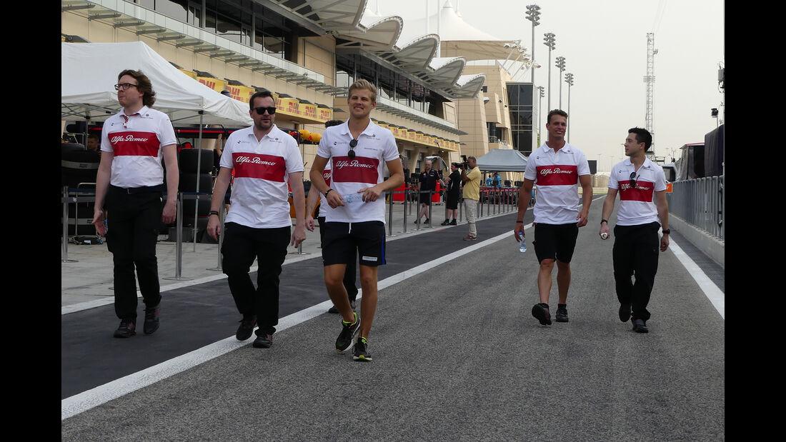 Marcus Ericsson - Sauber - Formel 1 - GP  Bahrain - 4. April 2018