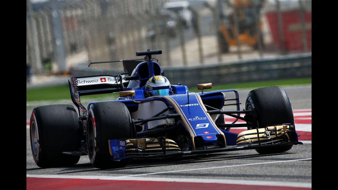 Marcus Ericsson - Sauber - Formel 1 - GP Bahrain - Sakhir - Training - Freitag - 14.4.2017