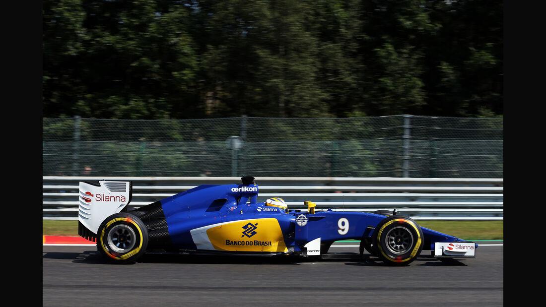 Marcus Ericsson - Sauber - Formel 1 - GP Belgien - Spa-Francorchamps - 22. August 2015