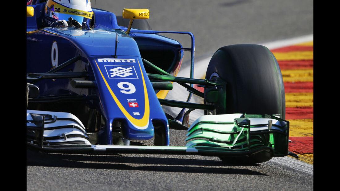 Marcus Ericsson - Sauber - Formel 1 - GP Belgien - Spa-Francorchamps - 26. August 2016