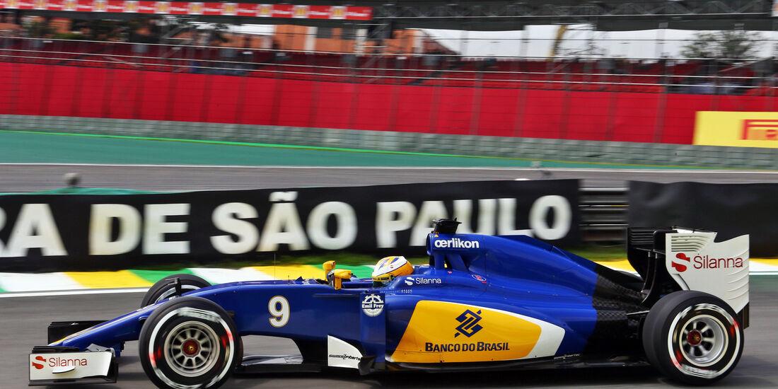 Marcus Ericsson - Sauber - Formel 1 - GP Brasilien- 13. November 2015