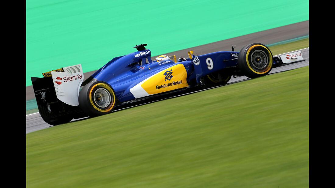 Marcus Ericsson - Sauber - Formel 1 - GP Brasilien- 14. November 2015