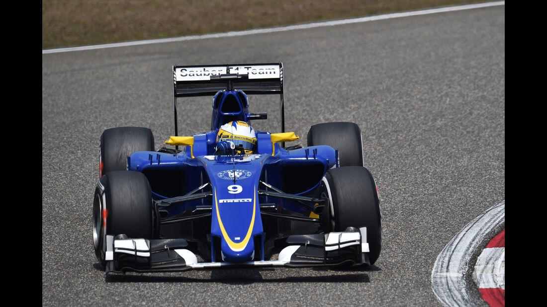 Marcus Ericsson - Sauber - Formel 1 - GP China - Shanghai - 10. April 2015