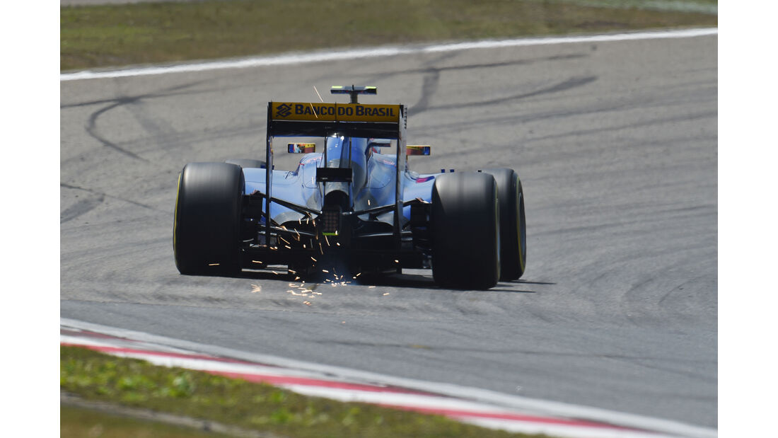 Marcus Ericsson - Sauber - Formel 1 - GP China - Shanghai - 11. April 2015