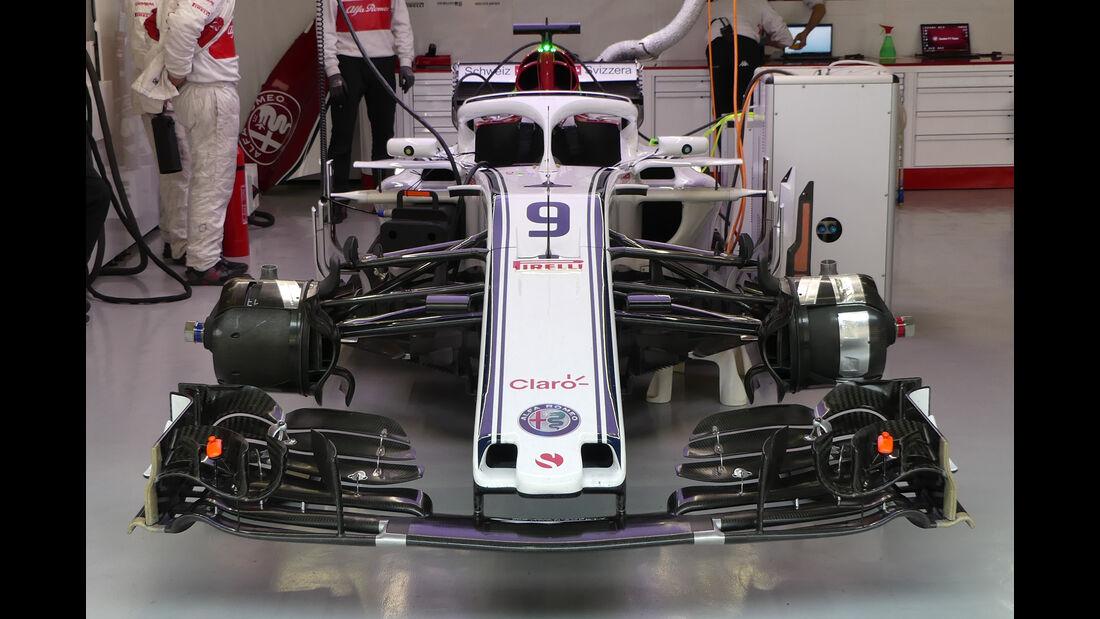 Marcus Ericsson - Sauber - Formel 1 - GP China - Shanghai - 13. April 2017