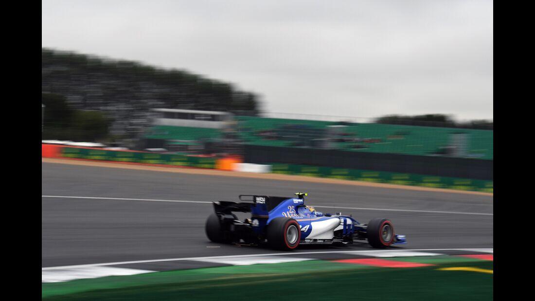 Marcus Ericsson - Sauber - Formel 1 - GP England - 15. Juli 2017