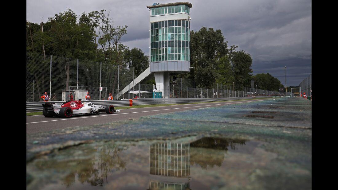 Marcus Ericsson - Sauber - Formel 1 - GP Italien - 01. September 2018