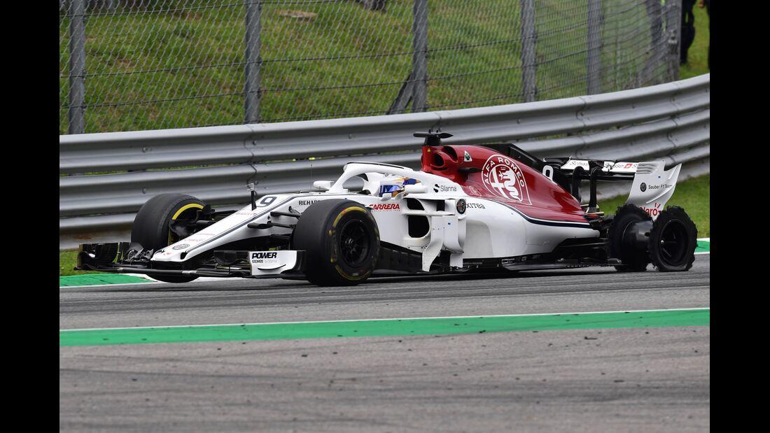 Marcus Ericsson - Sauber - Formel 1 - GP Italien - 02. September 2018