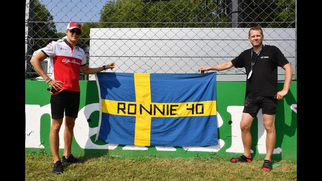 Marcus Ericsson - Sauber - Formel 1 - GP Italien - 30. August 2018