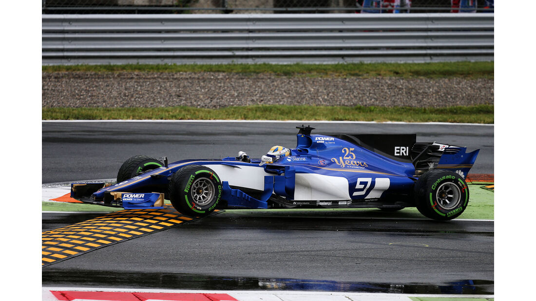 Marcus Ericsson - Sauber - Formel 1 - GP Italien - Monza - 2. September 2017