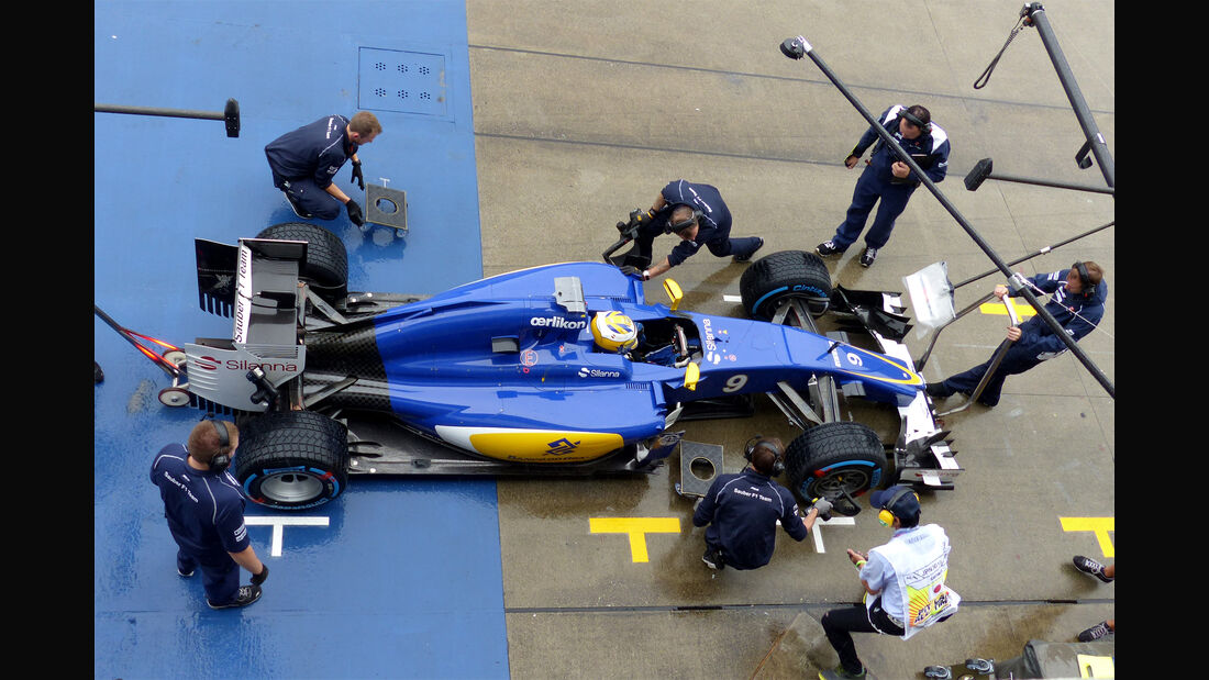 Marcus Ericsson - Sauber - Formel 1 - GP Japan - Suzuka - 25. September 2015