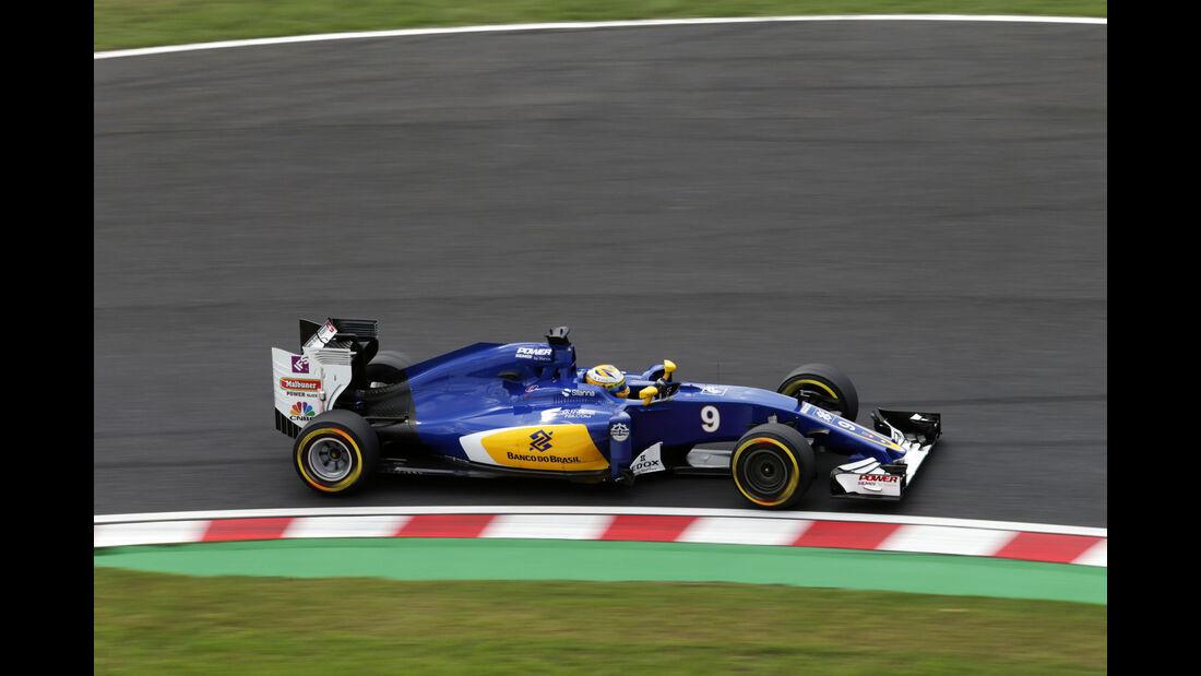 Marcus Ericsson - Sauber - Formel 1 - GP Japan - Suzuka - Freitag - 7.10.2016