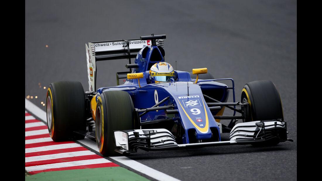 Marcus Ericsson - Sauber - Formel 1 - GP Japan - Suzuka - Qualifying - Samstag - 8.10.2016