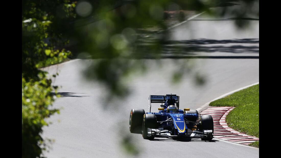 Marcus Ericsson - Sauber - Formel 1 - GP Kanada - Montreal - 6. Juni 2015