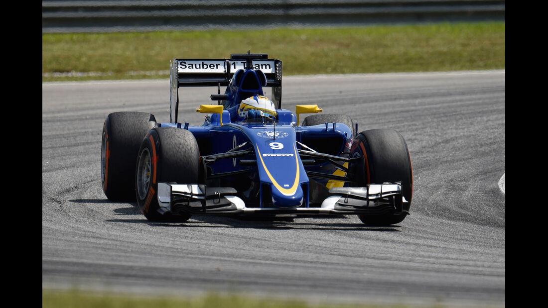 Marcus Ericsson - Sauber - Formel 1 - GP Malaysia - 28. März 2015
