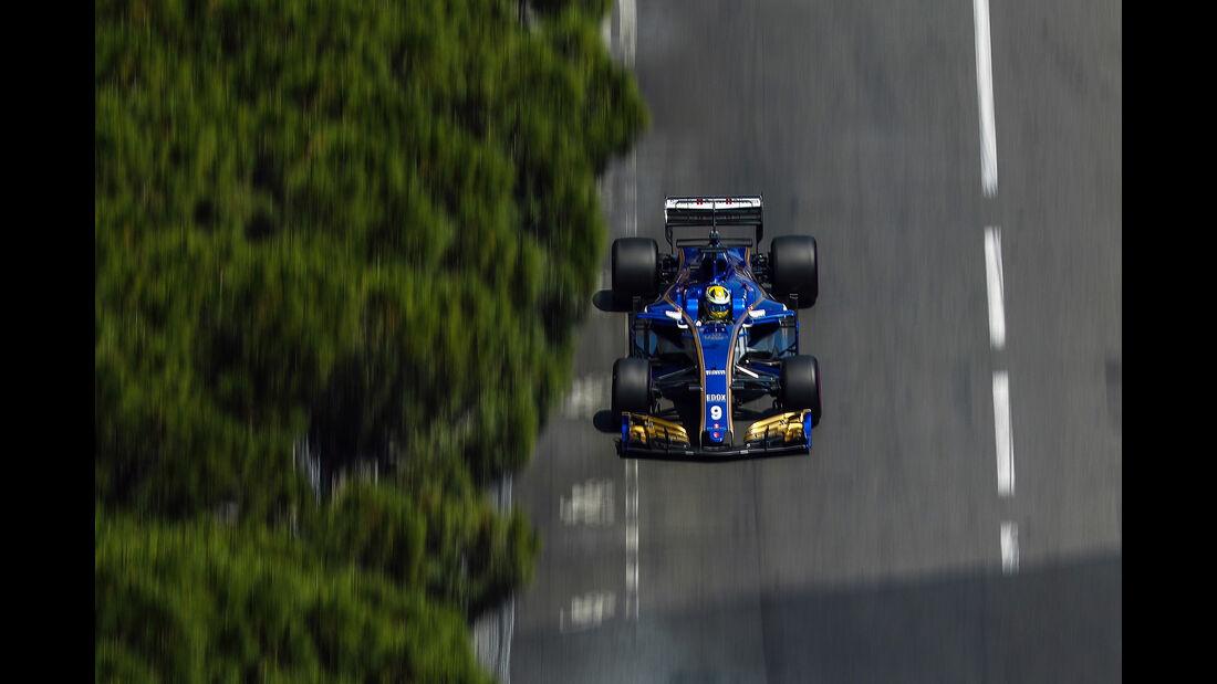 Marcus Ericsson - Sauber - Formel 1 - GP Monaco - 27. Mai 2017
