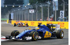 Marcus Ericsson - Sauber - Formel 1 - GP Singapur - 20. September 2015