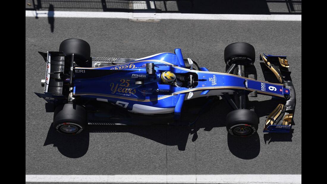 Marcus Ericsson - Sauber - Formel 1 - GP Spanien - 12. Mai 2017