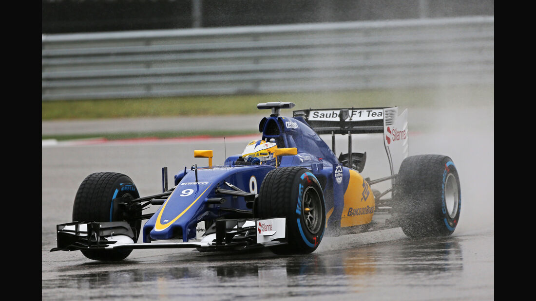 Marcus Ericsson - Sauber - Formel 1 - GP USA - Austin - Formel 1 - 24. Oktober 2015