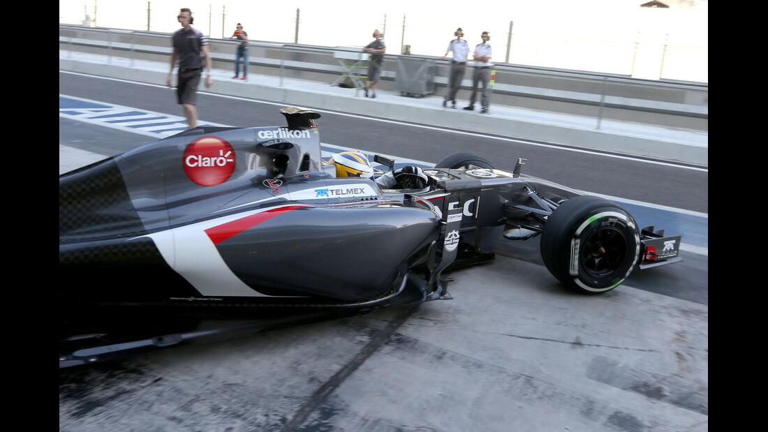 Marcus Ericsson - Sauber - Formel 1 Test - Abu Dhabi - 25. November 2014