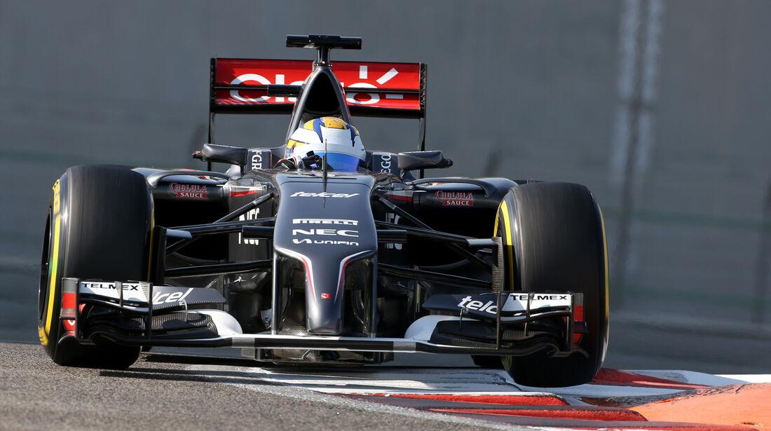 Marcus Ericsson - Sauber - Formel 1 - Test - Abu Dhabi - 26. November 2014