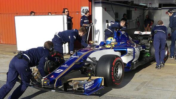 Marcus Ericsson - Sauber - Formel 1 - Test - Barcelona - 10. März 2017