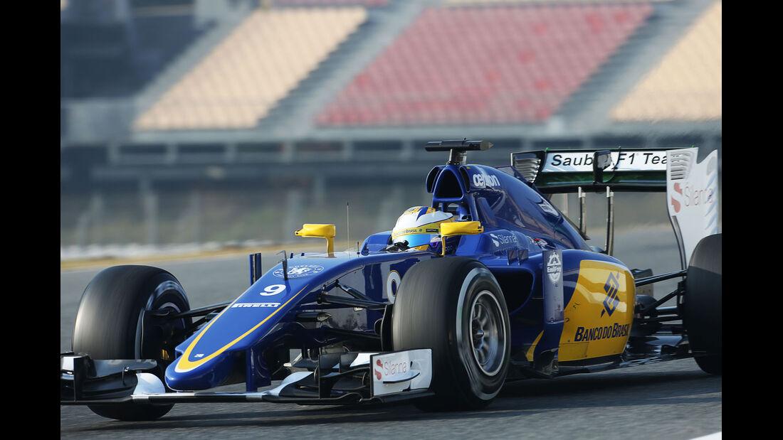 Marcus Ericsson - Sauber - Formel 1-Test - Barcelona - 20. Februar 2015