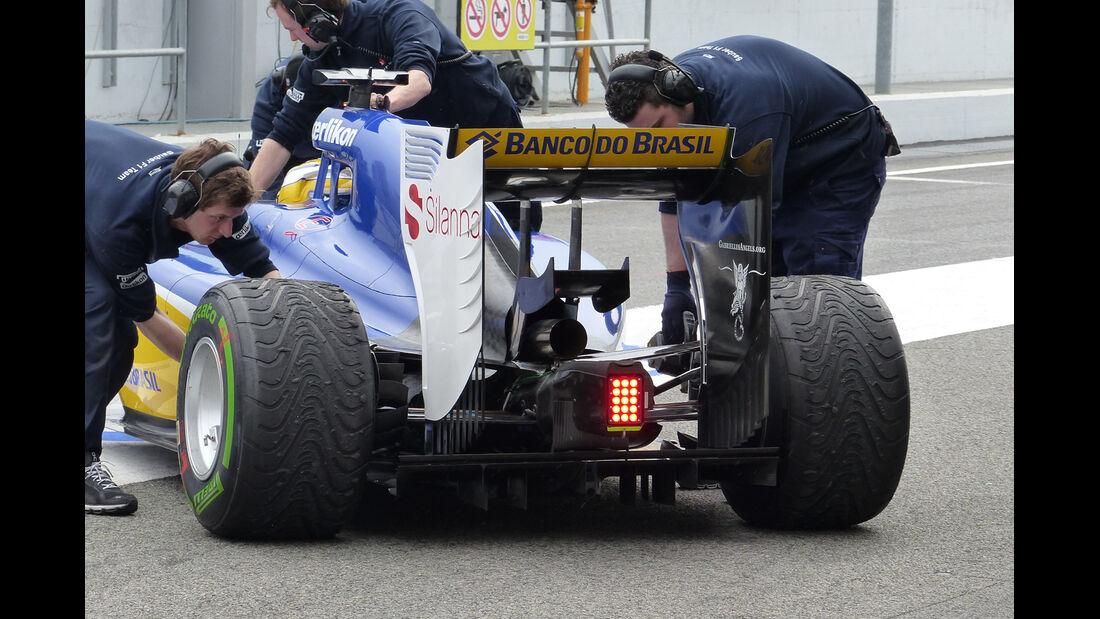 Marcus Ericsson - Sauber - Formel 1-Test - Barcelona - 21. Februar 2015