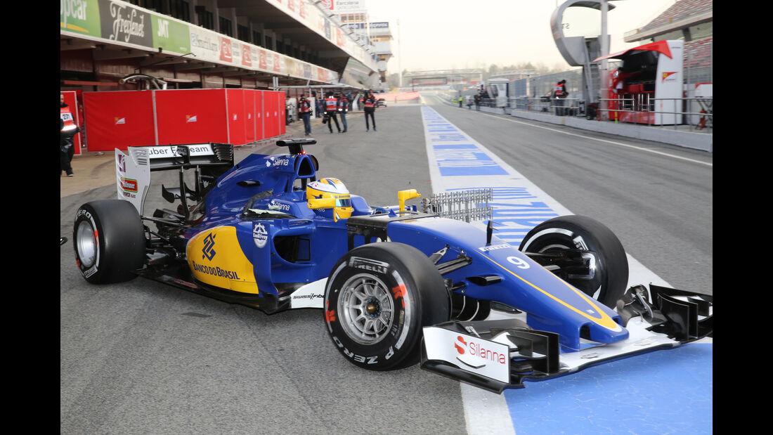 Marcus Ericsson - Sauber - Formel 1-Test - Barcelona - 23. Februar 2016