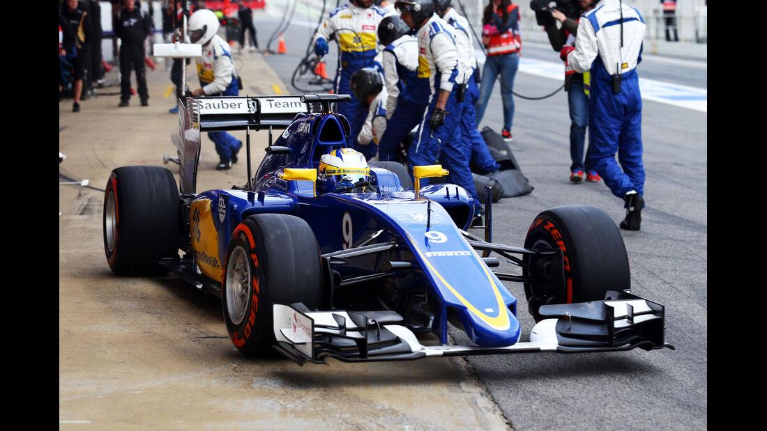 Marcus Ericsson - Sauber  Formel 1-Test - Barcelona - 26. Februar 2015