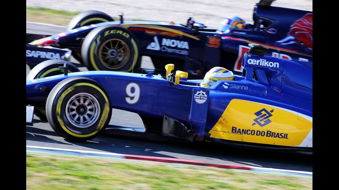Marcus Ericsson - Sauber - Formel 1-Test - Barcelona - 28. Februar 2015