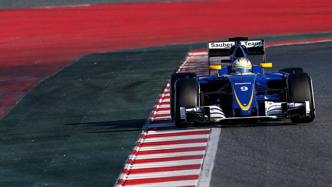 Marcus Ericsson - Sauber - Formel 1-Test - Barcelona - 4.3.2016