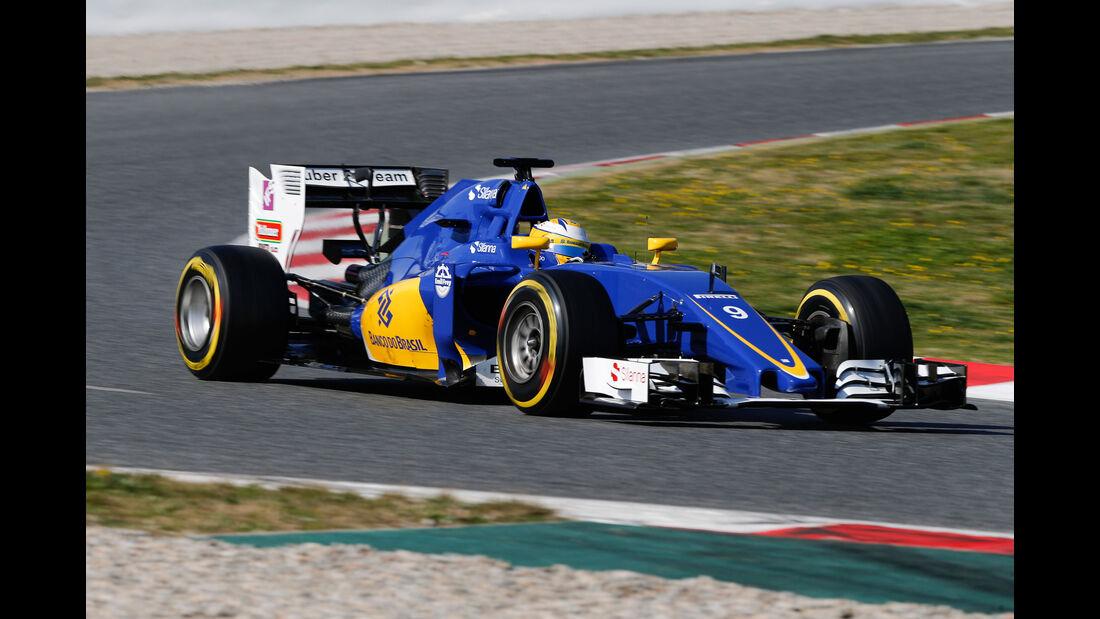Marcus Ericsson - Sauber - Formel 1-Test - Barcelona - 4. März 2016